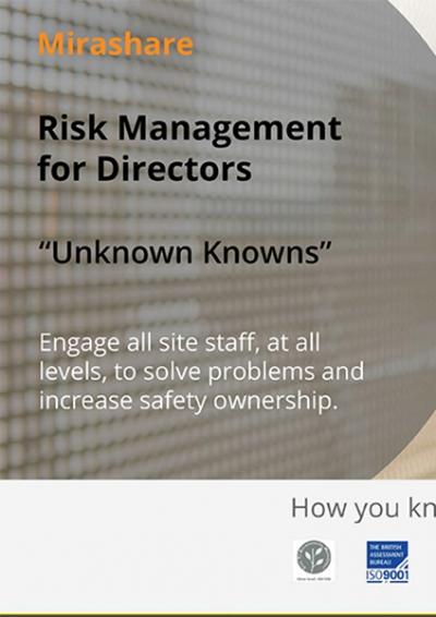 Risk MAnagement for Directors