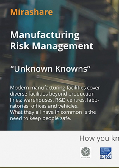 Manufacturing Risk Management